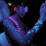 UV Blacklight stjärnor