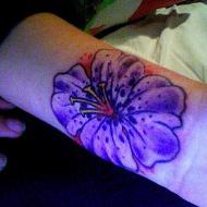 Hawaiiflower tatuering