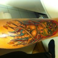 Rock´n roll tatuering