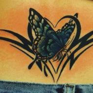 Fjäril och tribal