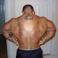 Outlines på ryggen
