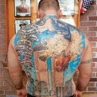 Minnestatuering av 11 september