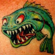 Grön fisk