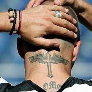David Beckham tatuering