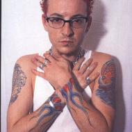 Chester från Linkin Park