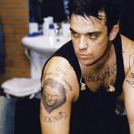 Robbie Williams tatueringar