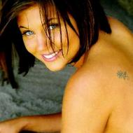 Tiffani Amber tatuering