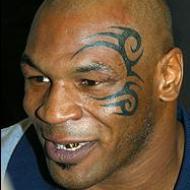 Mike Tyson ansiktstatuering
