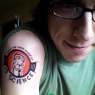 Science tatuering