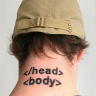 HTML tatuering
