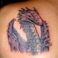 Överdelen på en drake