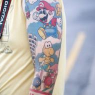 Nintendo tatuering