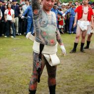 Yakuza tatuering helkropp