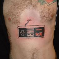 Nintendo 8-bit tatuering