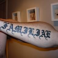 Tatuering på underarmen