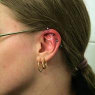Earhead och helix by Eaststreet