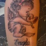 Tillägnad min dotter Engla