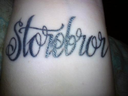 Mina första tatuering. title=