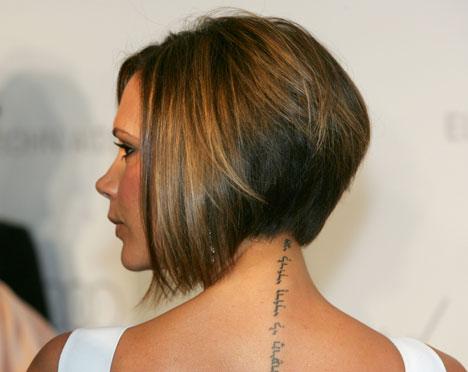 Victoria Beckham tatuering title=