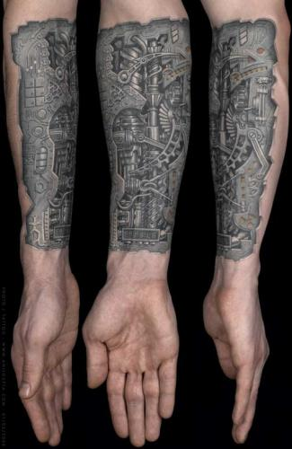 Biomech arm title=