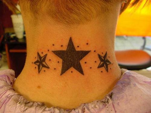 Stjärnor i nacken title=