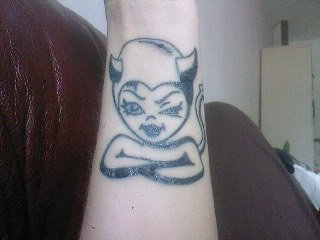 Tatuering piercing tattoo for She devil tattoo